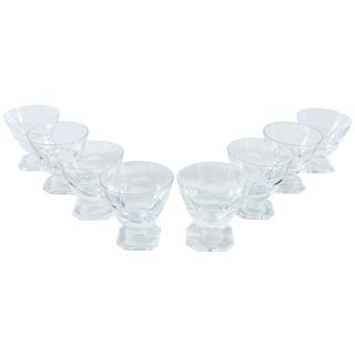 Petite French Sherbet Glasses - Set of 8
