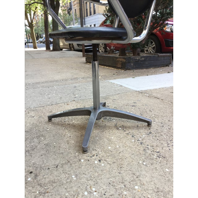 Image of 1960's Modern Chrome Desk Chair