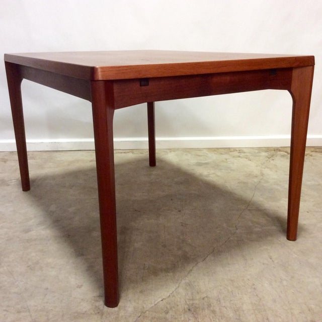 Image of Danish Modern Teak Extension Dining Table