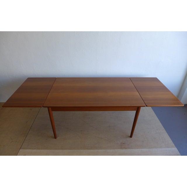 Hans Wegner Draw Leaf Teak Dining Table - Image 3 of 9