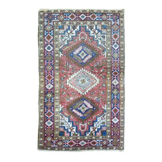 Antique Persian Heriz Rug - 2'9'' x 4'3''
