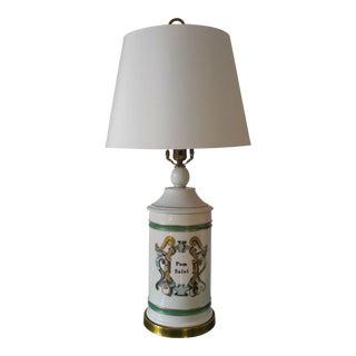 Apothecary Jar Table Lamp