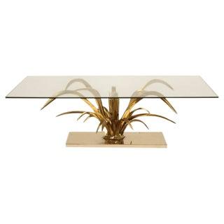 Mid-Century Modern Dore Bronze Coffee Table