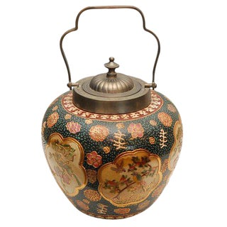 Satsuma Biscuit Barrel with Lid