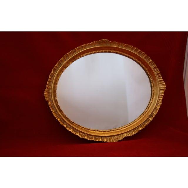 Image of Labrazel Italy Gold Gilt Mirrored Perfume Tray