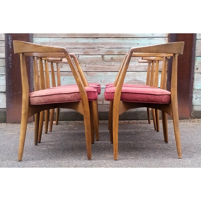 Lawrence Peabody Dining Chairs Set Of 6 Chairish