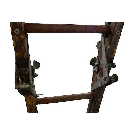 Vintage Tri-Fold 15 Ft Ladder - Image 4 of 4