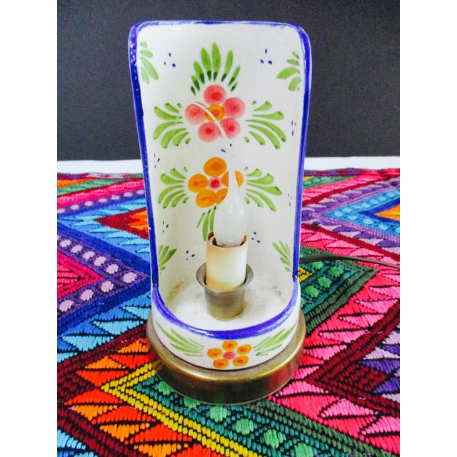 Boho Glam Ceramic Antique Candle Light - Image 4 of 10