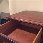 Image of Vintage Mahogany Dresser with 6 Drawers