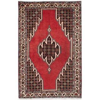 "Hamadan Vintage Persian Rug, 4'7"" x 6'11"""