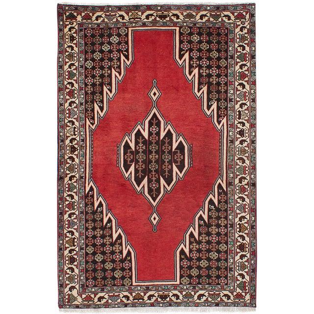 "Hamadan Vintage Persian Rug, 4'7"" x 6'11"" - Image 1 of 2"
