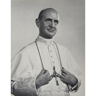 Pope Paul VI Photogravure by Yousuf Karsh