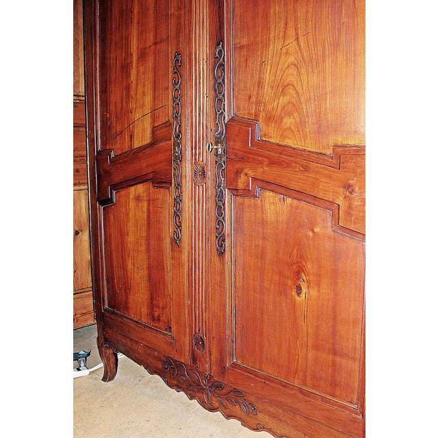 18th C. French Country Armoire - Image 9 of 11