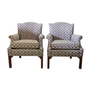 Beachly Wingback Chairs - Set of 4
