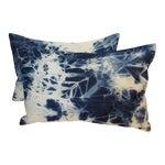 Image of Turkish Tie Dye Lumbar Pillows - Pair