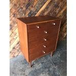 Image of Mid Century Walnut Dresser by Drexel