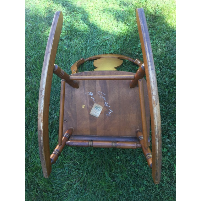 Tell City Balloon Back Rocking Chair - Image 6 of 8