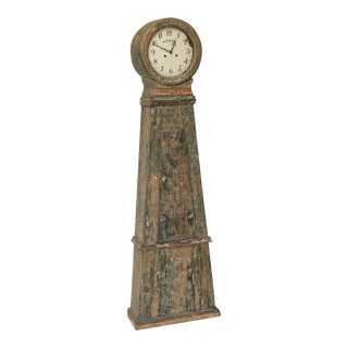 Swedish Provincial Long Case Clock, Dated 1837