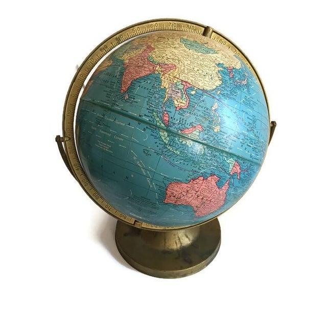 Mid Century Cram's Tilting Axis Globe - Image 2 of 6