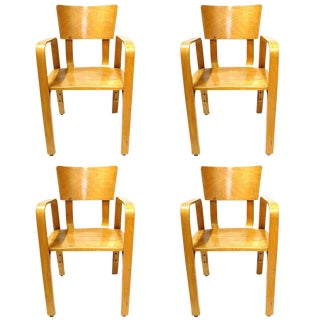 Thonet Bentwood Children's Chairs - Set of 4