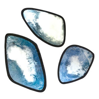 Agate Mirrors by Tom Palmer