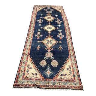 Vintage Persian Meshkabad Run - 3′8″ × 9′10″