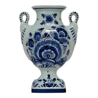 Vintage Delft Porcelain Vase