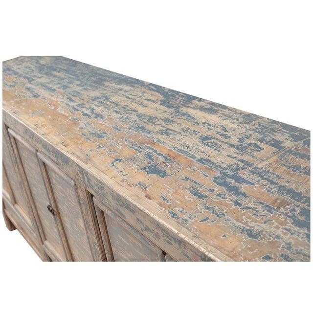Antique Sarreid LTD Chinese Pine Cabinet - Image 3 of 4