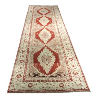 "Bellwether Rugs Vintage Turkish Oushak Runner - 3'9"" x 12'9"""