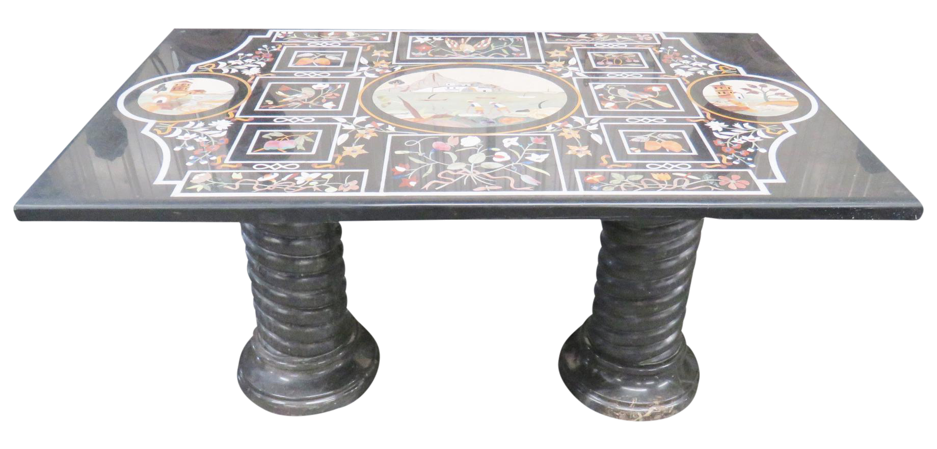 Pietra Dura Italian Inlaid Marble Top Dining Table Chairish : 736a08df 8ced 4baf a33f 8c74bef1989baspectfitampwidth640ampheight640 from www.chairish.com size 640 x 640 jpeg 32kB