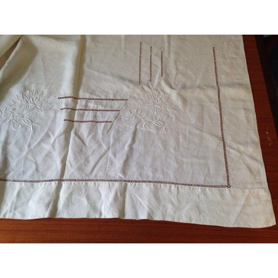 1920's French Bed Linen - Image 3 of 6