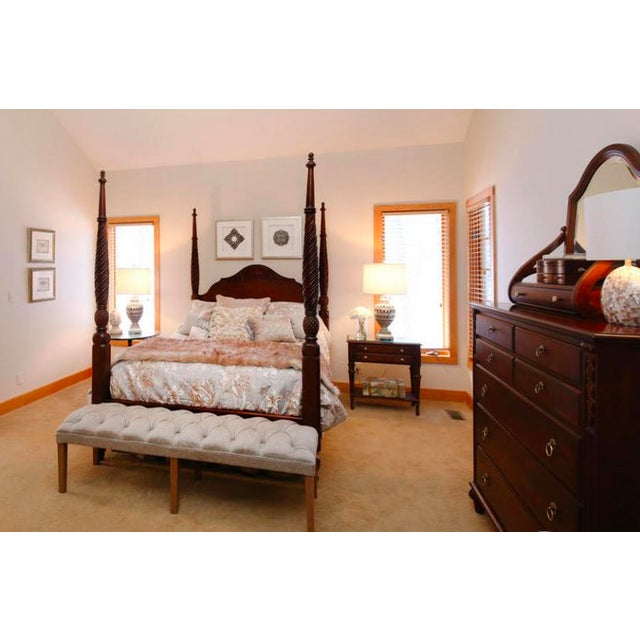 Montego Plantation Poster Canopy Bed - Image 3 of 5