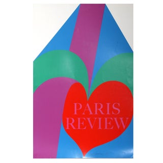 Carol Summers - Paris Review Silkscreen