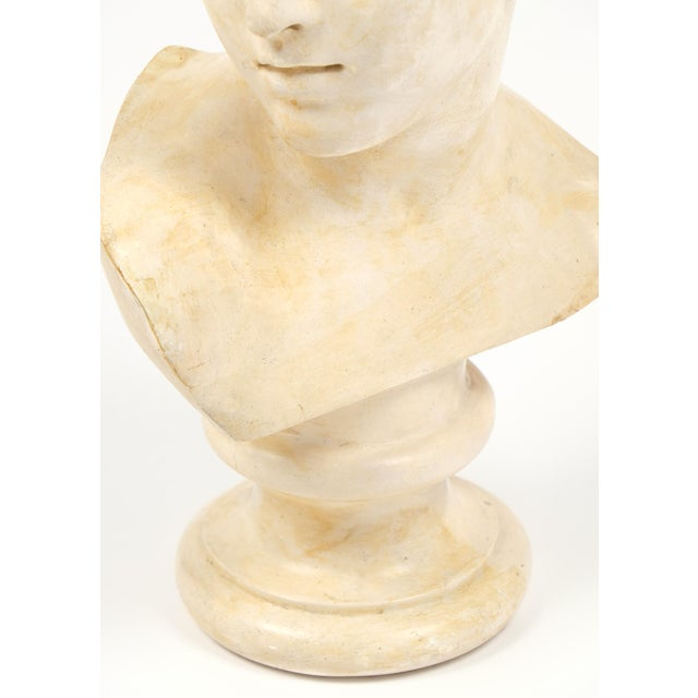 Antique French Plaster Child Bust - Image 9 of 9