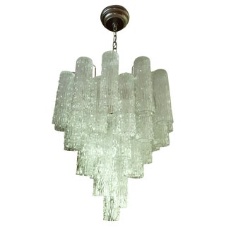 Venice & Murano Co. Glass Tiered Chandelier