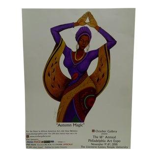 2001 Autumn Magic Philadelphia Art Expo October Gallery Poster