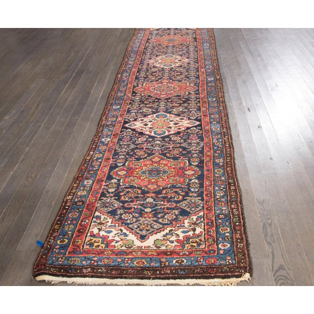"""Vintage Apadana Persian Rug -- 3'2"""" x 13' - Image 2 of 4"""