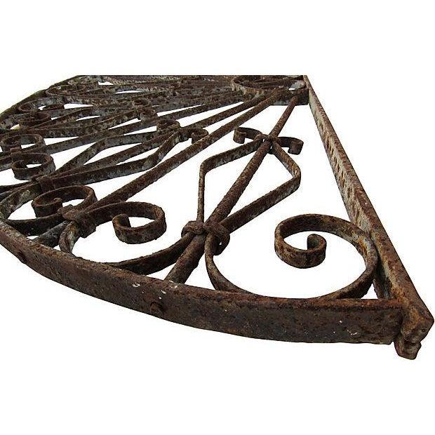 Mediterranean Architechtural Wrought Iron Arch - Image 5 of 6