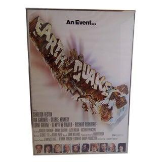 """""""Earthquake"""", Original Movie Poster"""