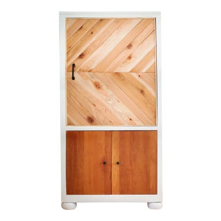 Modern, Warm Wood Cabinet