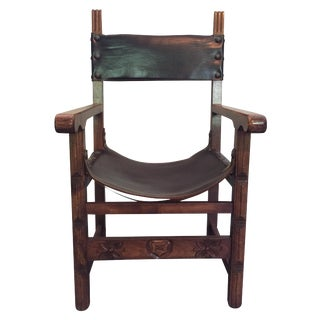 Vintage Spanish Style Side Chair