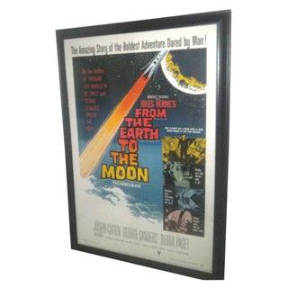 Original 1958 Sci-Fi Framed Movie Poster