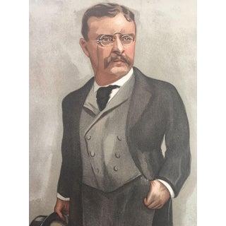 1902 Vanity Fair President Teddy Roosevelt Print