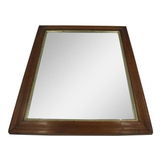 Bird's Eye Maple Framed Mirror