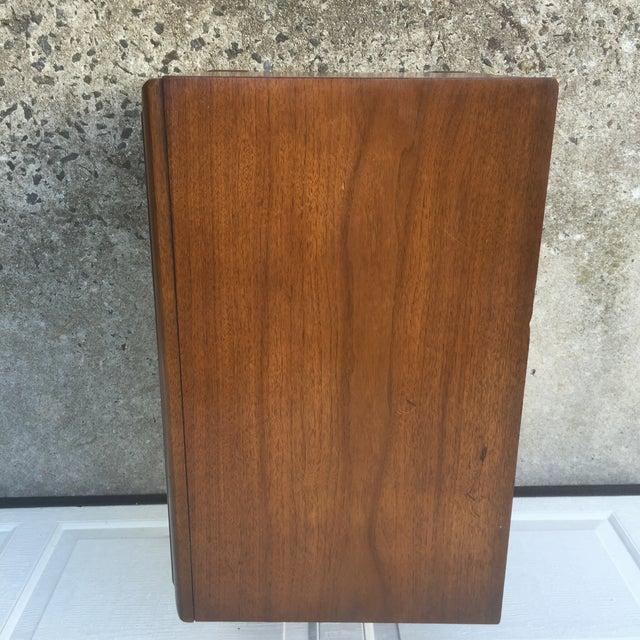 Mid-Century Modern Walnut Nightstand - Image 9 of 10
