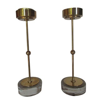 Ystad Metall Candleholders - A Pair