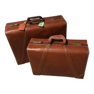 1945 Wheary Neolite Luggage Set - A Pair