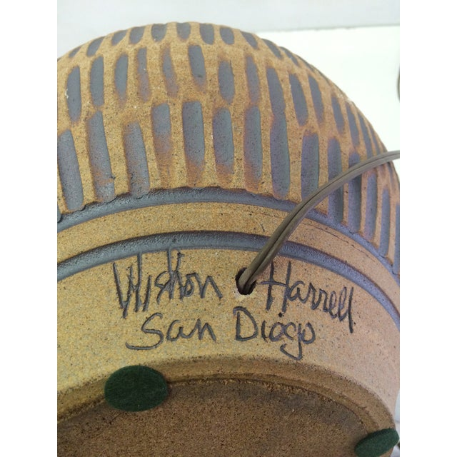 Earthy Wishon-Harrell Ceramic Table Lamp - Image 4 of 4