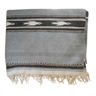 Hand Loomed Wool Blanket