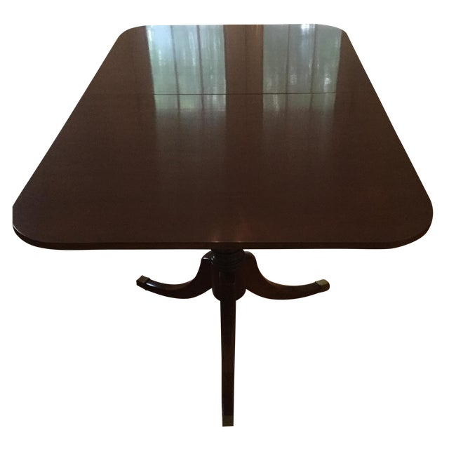 Drexel Travis Court Dining Room Table - Image 1 of 6